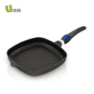 【UCOM德國AMT】黑魔法26cm方型平底鍋(無蓋)
