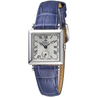 【玫瑰錶 Rosemont】戀舊系列時尚腕錶(TN011-03-DBU藍)