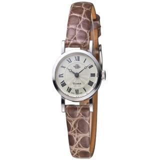 【玫瑰錶 Rosemont】純銀系列 輕巧復古時尚腕錶(TKR1-925SV-LSG)