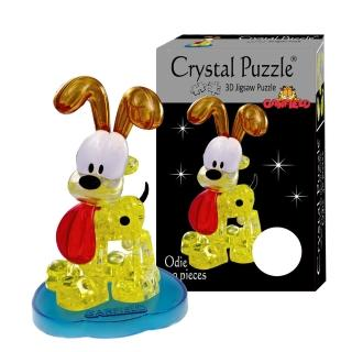 【3D立體水晶拼圖】3D Crystal Puzzles 歐弟Odie(8cm系列-40片)