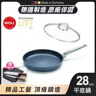 【德國 WOLL】Diamond Lite Pro 鑽石系列28cm 平底鍋(含蓋)