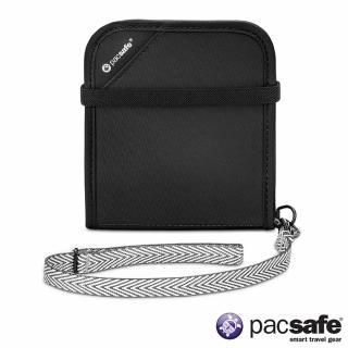 【Pacsafe】RFIDSAFE V100 防盜皮夾(黑色)