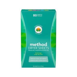 【Method 美則】香氛柔軟烘衣片80入-海藍鼠尾草