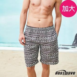 【Heatwave 熱浪】加大男海灘褲-紳灰咖(A251)