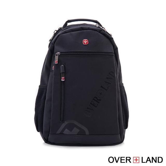 【OverLand】美式十字軍-品牌LOGO浮印後背包(3143)