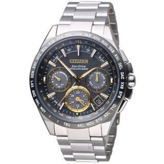 【星辰 CITIZEN】光動能 鈦感光衛星計時腕錶(CC9015-54F)