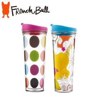 【FRENCH BULL】DrinkUp系列Tritan隨手杯2入組700ml(隨手杯)