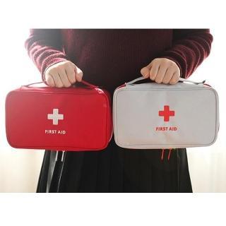 【TD樂活】韓版 大容量立體旅行便攜醫藥收納包 藥品整理包(旅行收納包)