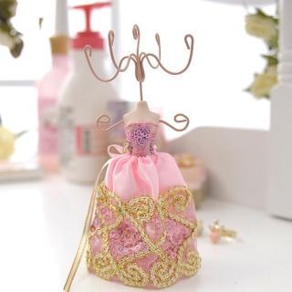 【Lady c.c.】精細車工緞帶蝴蝶禮服飾品架