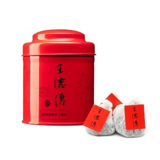 【王德傳】凍頂烏龍手工棉布袋茶18入含罐