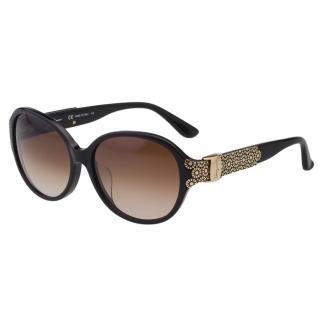 【Salvatore Ferragamo】-時尚優雅太陽眼鏡SF742SA(黑色)