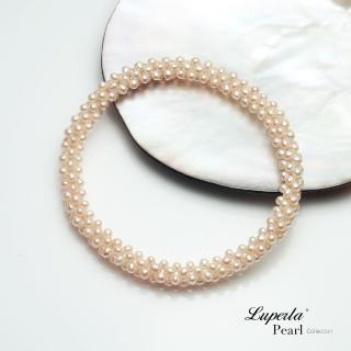 【大東山珠寶】櫻粉春色珍珠手環