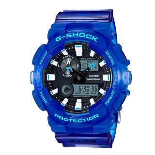 【CASIO卡西歐G-SHOCK 系列】夏威夷海洋風格設計_清爽造型風_夏日衝浪運動男錶(GAX-100MSA)
