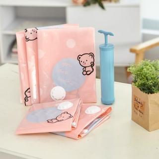 【ikloo】小熊真空壓縮袋加厚款-13件