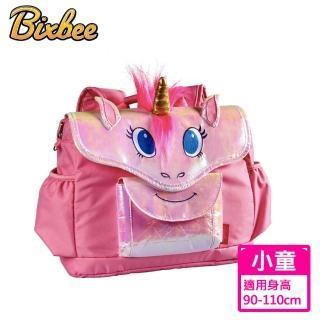 【美國Bixbee】3D動物童趣系列奇幻粉獨角馬小童背包