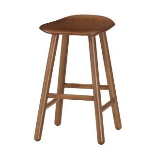 【Bernice】諾文實木吧台椅/高腳椅/單椅(三色可選)
