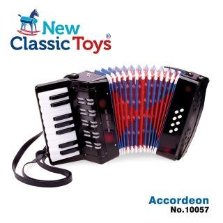 【荷蘭New Classic Toys】幼兒鍵盤式手風琴玩具(10057)