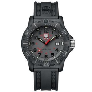 【LUMINOX 雷明時】Black Ops 8880黑夜行動系列腕錶-灰x黑時標(45mm)