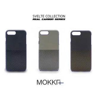 【Mokka】Iphone7 4.7 復古仿碳纖維手工拼接手機殼(手工背蓋 皮背蓋)