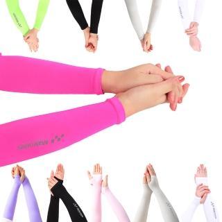 【Maleroads】布料再升級!! 防曬袖套 運動 夏天防曬 涼感 袖套(跑步 戶外 柔軟舒適 清爽透氣)