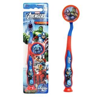 【AVENGERS】兒童吸盤牙刷(Captain America-附刷蓋)