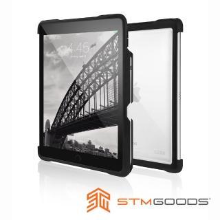 【澳洲 STM】Dux Shell iPad Pro 10.5吋(專用軍規防摔殼 - 黑)