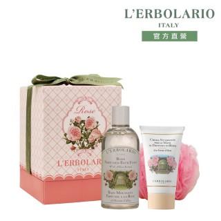 【L'ERBOLARIO 蕾莉歐】玫瑰香緹禮盒