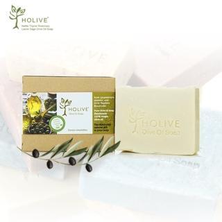【希臘神話】天然橄欖油手作皂/橄欖原味(120g/1入)