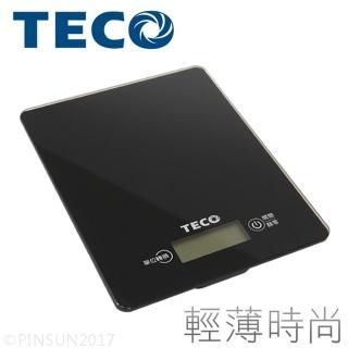 【TECO 東元】數位食物秤 XYFWT701(觸控 玻璃 料理秤 電子秤)