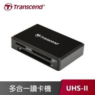 【創見 Transcend】RDF9K2 USB 3.1/3.0 UHS-II 高速多合一讀卡機 靚亮黑(TS-RDF9K2)