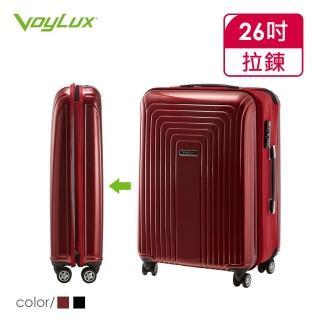 【VOYLUX】VERTICAL系列-26吋硬殼收摺專利八輪摺疊行李箱(37896X)