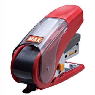 【MAX】HD-10NLK 省力釘書機 紅
