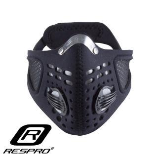 【英國 RESPRO】SPORTSTA 運動款高透氣防護口罩(黑色)