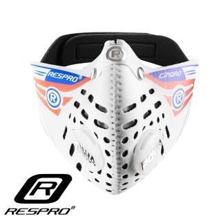 【英國 RESPRO】CINQRO 運動款多重防護口罩(白色)