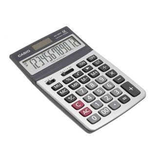 【CASIO卡西歐】12位數雙電源可掀式商用計算機(AX-120ST)