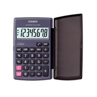 【CASIO卡西歐】8位數國考型計算機(LC-401LV)