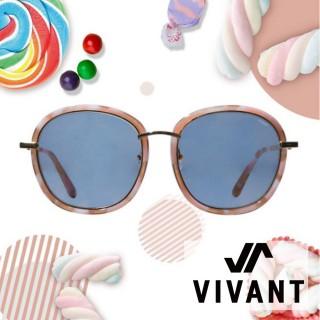 【VIVANT】韓國 果漾百匯系列大框太陽眼鏡.焦糖(PARFAIT C3)