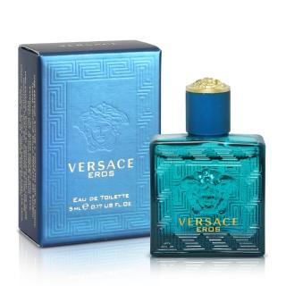 【Versace 凡賽斯】艾諾斯‧愛神男性淡香水小香(5ml)