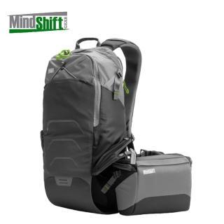 【MindShiftGear 曼德士】180度休閒旅遊攝影背包 (炭灰)/MS230