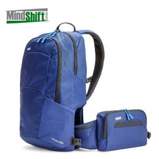 【MindShiftGear 曼德士】180度商務旅行攝影背包 暮光藍/MS241