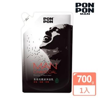 【澎澎MAN】元氣炭沐浴乳-補充包700g