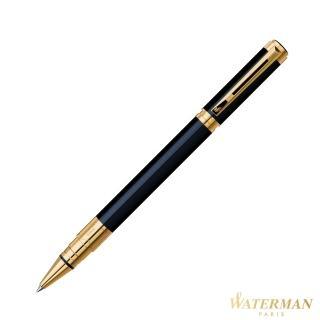 【WATERMAN】透視系列 黑桿金夾 鋼珠筆(優雅的建筑)