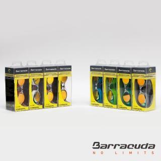 【美國巴洛酷達Barracuda】兒童抗UV電鍍泳鏡-CARNAVAL#34710(抗UV防霧舒適7-15歲兒童泳鏡)