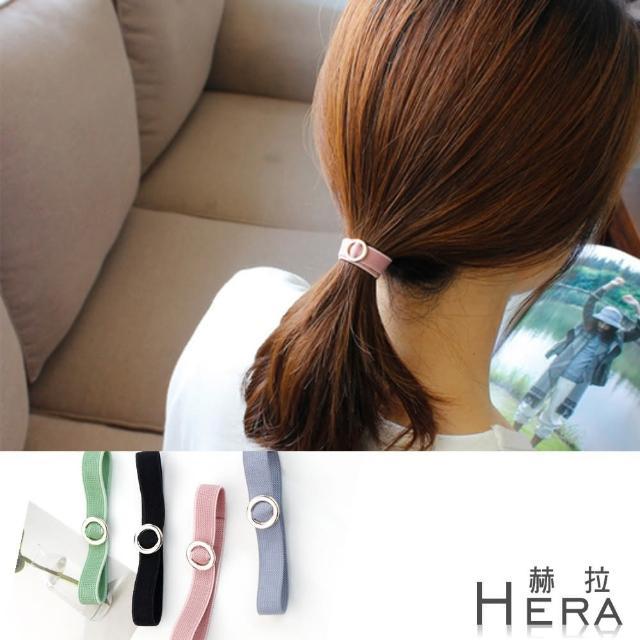 【Hera】赫拉 金屬圓圈手鍊式髮圈/髮束/3入組