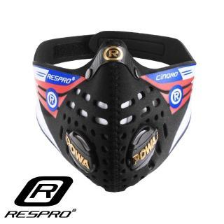 【英國 RESPRO】CINQRO 運動款多重防護口罩(黑色)