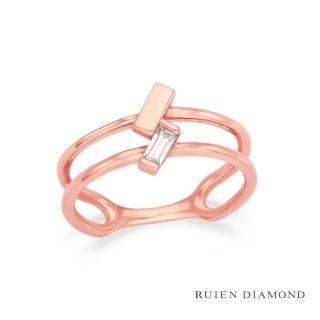 【RUIEN DIAMOND】韓星 金智媛代言款(14K戒指 LR111)