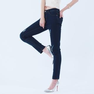 L'LAR手工刷洗極輕特薄逆齡牛仔褲組