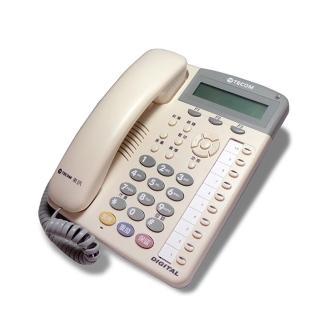 【TECOM 東訊】SD-7710E 10鍵顯示型話機(東訊總機專用)
