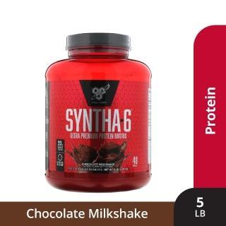 【美國BSN-畢斯恩】Syntha-6 勁量低脂複合乳清蛋白(5磅- 巧克力口味公司貨)