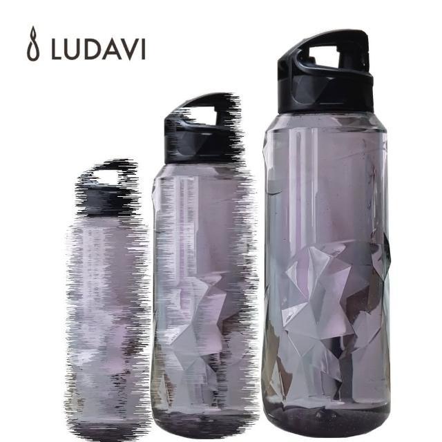 【LUDAVI鑽石水瓶1000ml運動款】歐洲安全材質